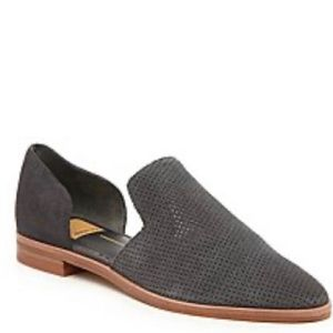 Dolce Vita Suede leather Cody flat in charcoal